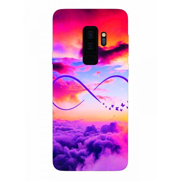 Husa Silicon Soft Upzz Print Samsung Galaxy S9+ Plus Model Infinity imagine itelmobile.ro 2021