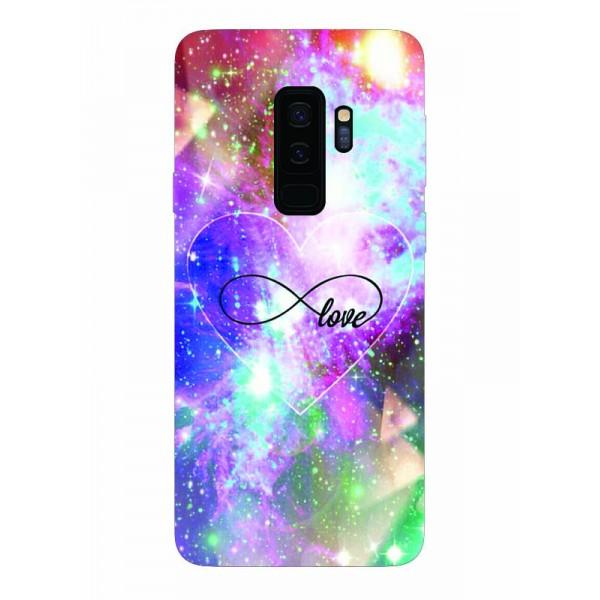 Husa Silicon Soft Upzz Print Samsung Galaxy S9+ Plus Model Neon Love imagine itelmobile.ro 2021