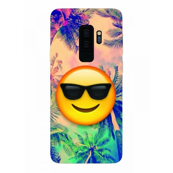 Husa Silicon Soft Upzz Print Samsung Galaxy S9+ Plus Model Smille imagine itelmobile.ro 2021