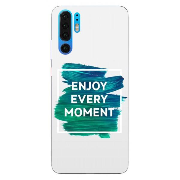 Husa Silicon Soft Upzz Print Huawei P30 Pro Model Enjoy imagine itelmobile.ro 2021