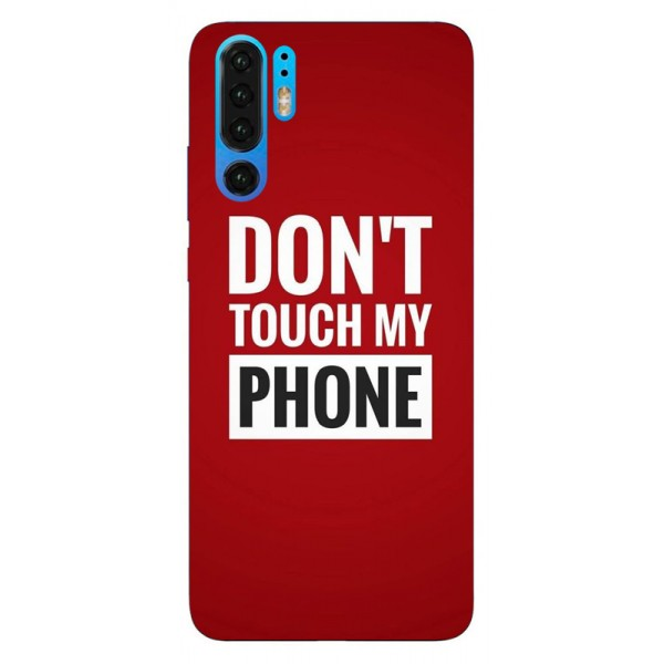 Husa Silicon Soft Upzz Print Huawei P30 Pro Model My Phone imagine itelmobile.ro 2021