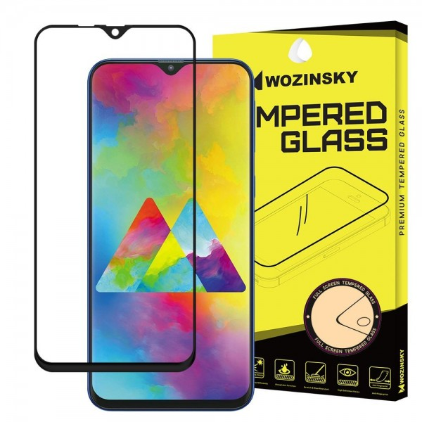 Folie Sticla Full Cover Full Glue Wozinsky Samsung Galaxy M10 Cu Adeziv Pe Toata Suprafata Foliei Neagra imagine itelmobile.ro 2021
