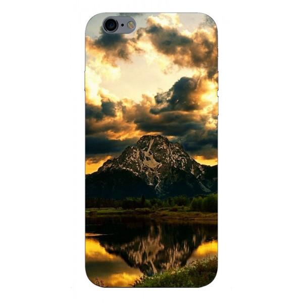 Husa Silicon Soft Upzz Print iPhone 6 / 6s Model Apus imagine itelmobile.ro 2021