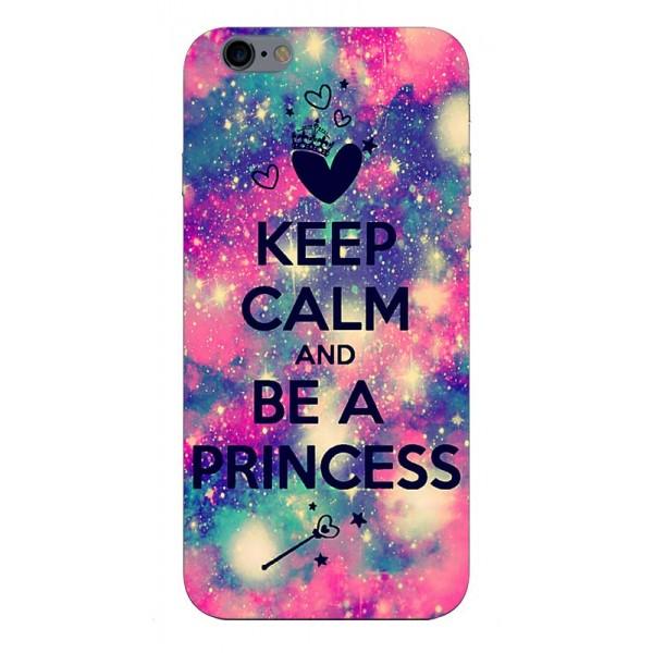 Husa Silicon Soft Upzz Print iPhone 6 / 6s Model Be Princess imagine itelmobile.ro 2021