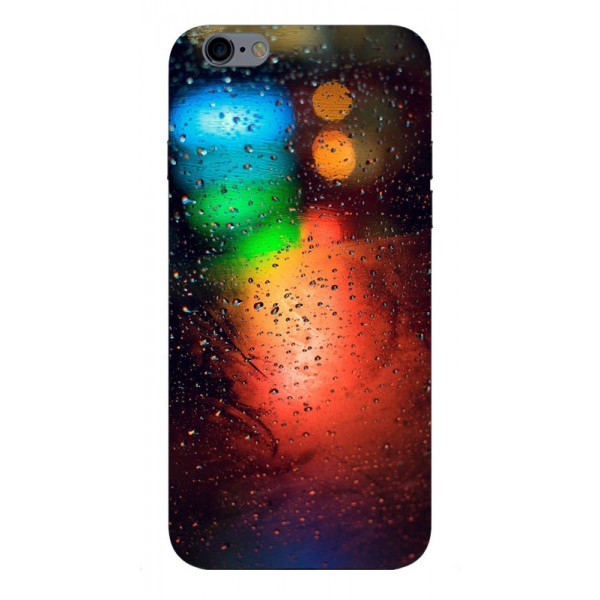 Husa Silicon Soft Upzz Print iPhone 6 / 6s Model Multicolor imagine itelmobile.ro 2021
