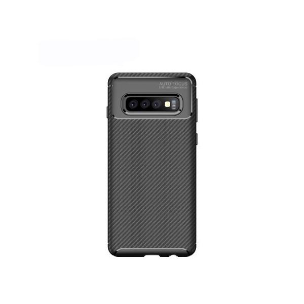 Husa Premium Rugged Carbon New Auto Focus Samsung Galaxy S10e Negru imagine itelmobile.ro 2021