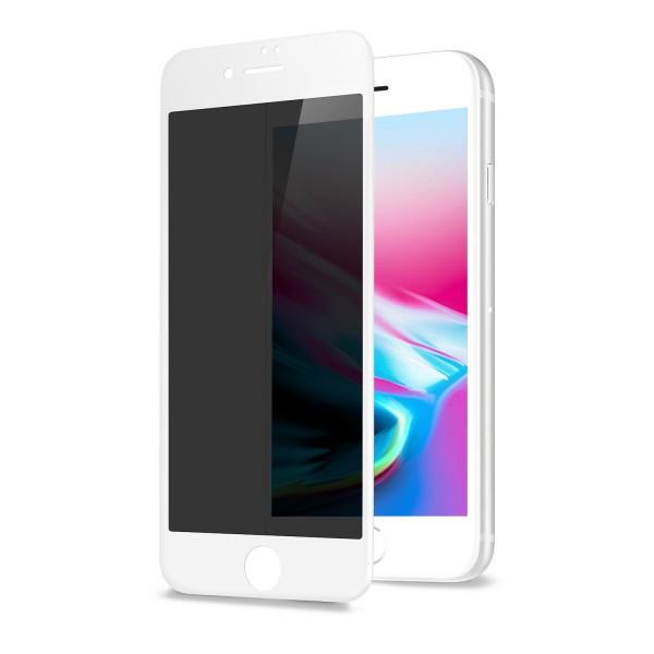 Folie Sticla Upzz Privacy iPhone 7/8 - Alb imagine itelmobile.ro 2021