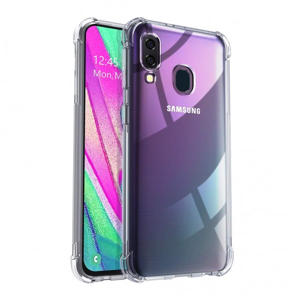 Husa Premium Upzz Anti-shock Tpu Silicon Crystal Clear Samsung Galaxy A30 Transparenta imagine itelmobile.ro 2021
