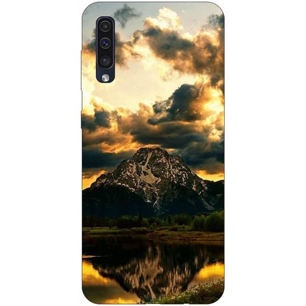 Husa Silicon Soft Upzz Print Samsung Galaxy A50 Model Apus imagine itelmobile.ro 2021