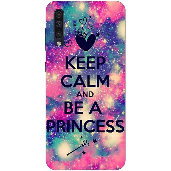 Husa Silicon Soft Upzz Print Samsung Galaxy A50 Model Be Princess imagine itelmobile.ro 2021