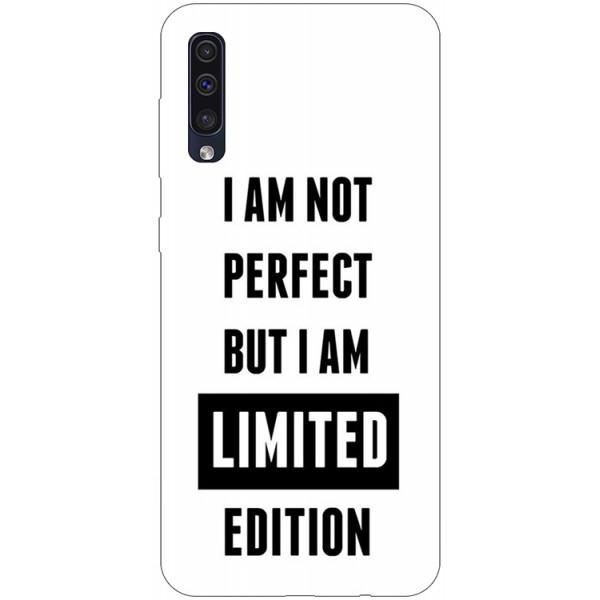 Husa Silicon Soft Upzz Print Samsung Galaxy A50 Model Limited Edition imagine itelmobile.ro 2021