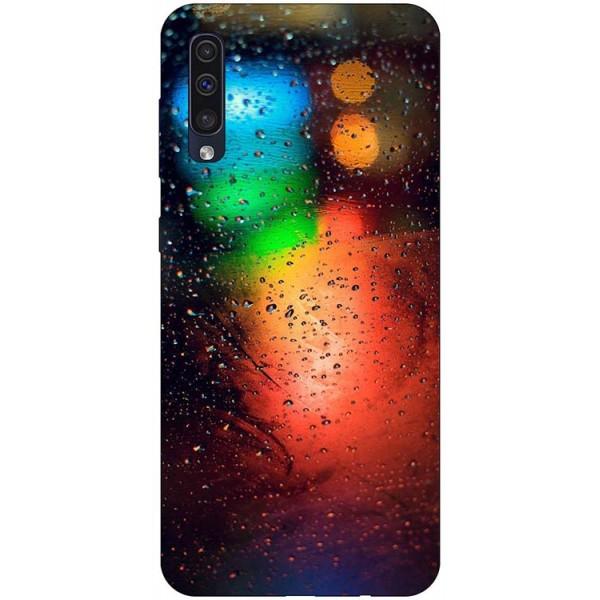 Husa Silicon Soft Upzz Print Samsung Galaxy A50 Model Multicolor imagine itelmobile.ro 2021