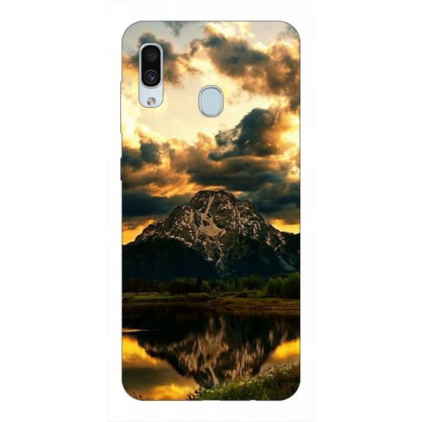 Husa Silicon Soft Upzz Print Samsung Galaxy A30 Model Apus imagine itelmobile.ro 2021