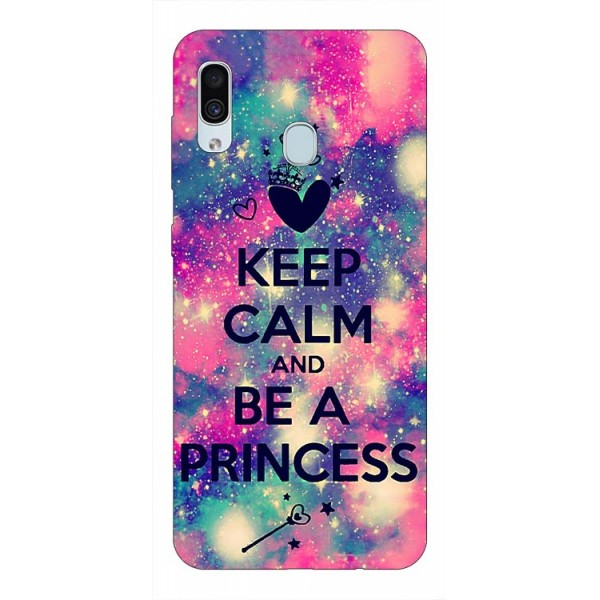 Husa Silicon Soft Upzz Print Samsung Galaxy A30 Model Be Princess imagine itelmobile.ro 2021