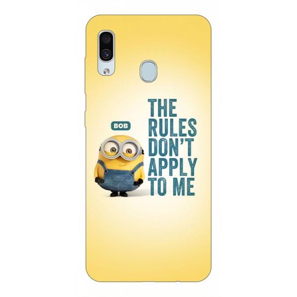 Husa Silicon Soft Upzz Print Samsung Galaxy A30 Model Bob imagine itelmobile.ro 2021