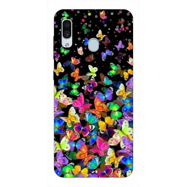 Husa Silicon Soft Upzz Print Samsung Galaxy A30 Model Colorature imagine itelmobile.ro 2021