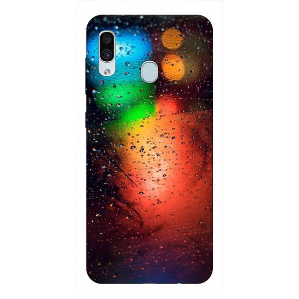 Husa Silicon Soft Upzz Print Samsung Galaxy A30 Model Multicolor imagine itelmobile.ro 2021