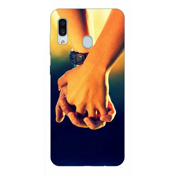 Husa Silicon Soft Upzz Print Samsung Galaxy A30 Model Together imagine itelmobile.ro 2021