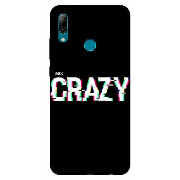 Husa Silicon Soft Upzz Print Huawei P Smart 2019 Model Crazy imagine itelmobile.ro 2021