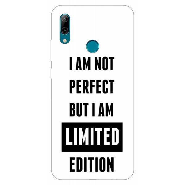 Husa Silicon Soft Upzz Print Huawei P Smart 2019 Model Limited Edition imagine itelmobile.ro 2021