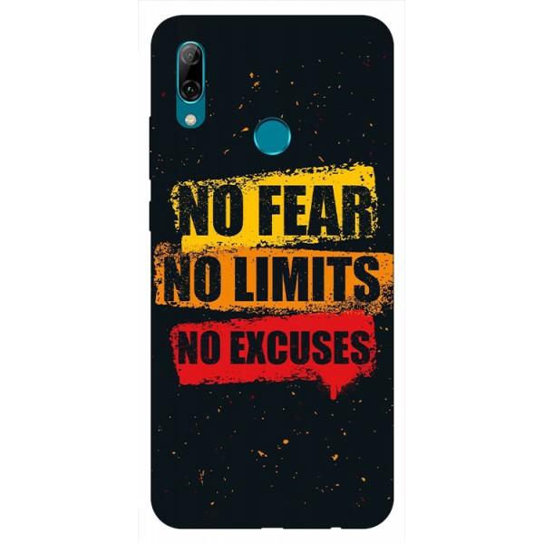 Husa Silicon Soft Upzz Print Huawei P Smart 2019 Model No Fear imagine itelmobile.ro 2021