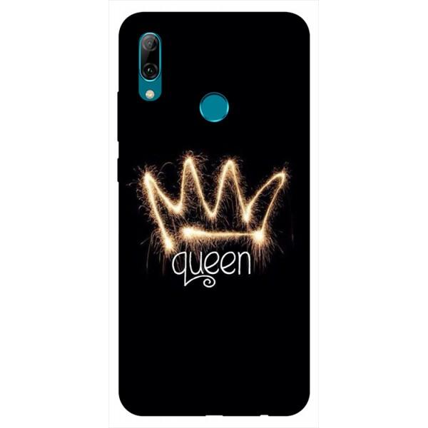 Husa Silicon Soft Upzz Print Huawei P Smart 2019 Model Queen imagine itelmobile.ro 2021