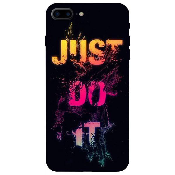 Husa Silicon Soft Upzz Print iPhone 7/8 Plus Model Jdi imagine itelmobile.ro 2021