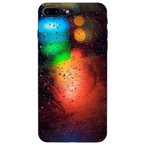 Husa Silicon Soft Upzz Print iPhone 7/8 Plus Model Multicolor imagine itelmobile.ro 2021