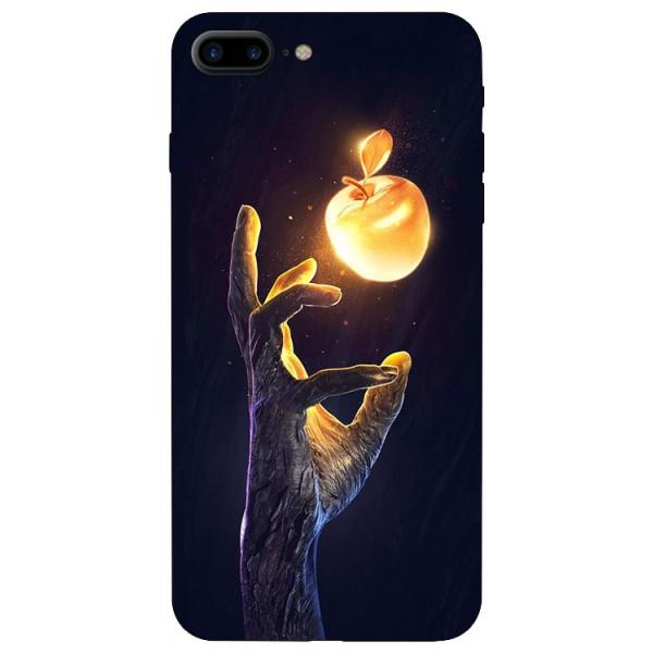 Husa Silicon Soft Upzz Print iPhone 7/8 Plus Model Reach imagine itelmobile.ro 2021