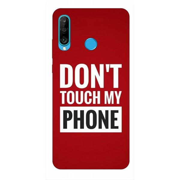 Husa Silicon Soft Upzz Print Huawei P30 Lite Model My Phone imagine itelmobile.ro 2021