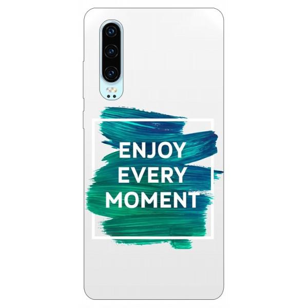 Husa Silicon Soft Upzz Print Huawei P30 Model Enjoy imagine itelmobile.ro 2021