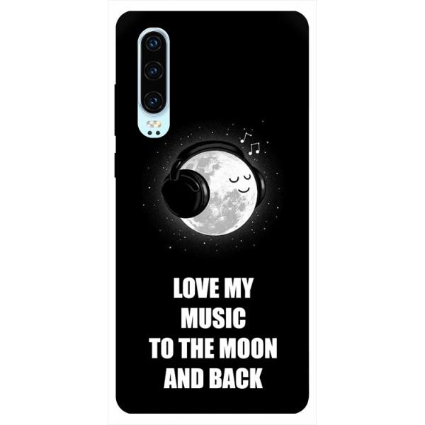 Husa Silicon Soft Upzz Print Huawei P30 Model Music imagine itelmobile.ro 2021
