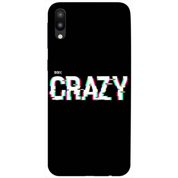 Husa Silicon Soft Upzz Print Samsung Galaxy M10 Model Crazy imagine itelmobile.ro 2021