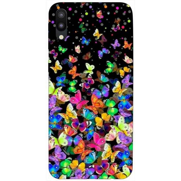 Husa Silicon Soft Upzz Print Samsung Galaxy M10 Model Colorature imagine itelmobile.ro 2021