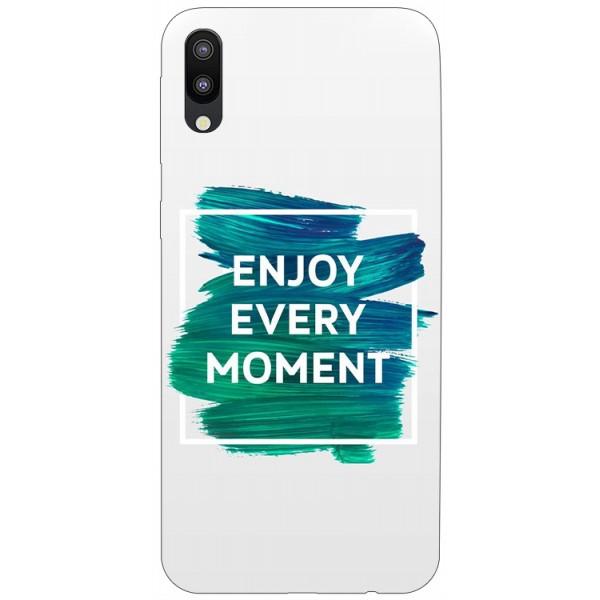 Husa Silicon Soft Upzz Print Samsung Galaxy M10 Model Enjoy imagine itelmobile.ro 2021