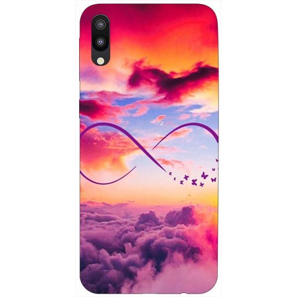 Husa Silicon Soft Upzz Print Samsung Galaxy M10 Model Infinity imagine itelmobile.ro 2021