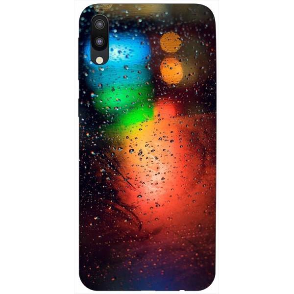 Husa Silicon Soft Upzz Print Samsung Galaxy M10 Model Multicolor imagine itelmobile.ro 2021