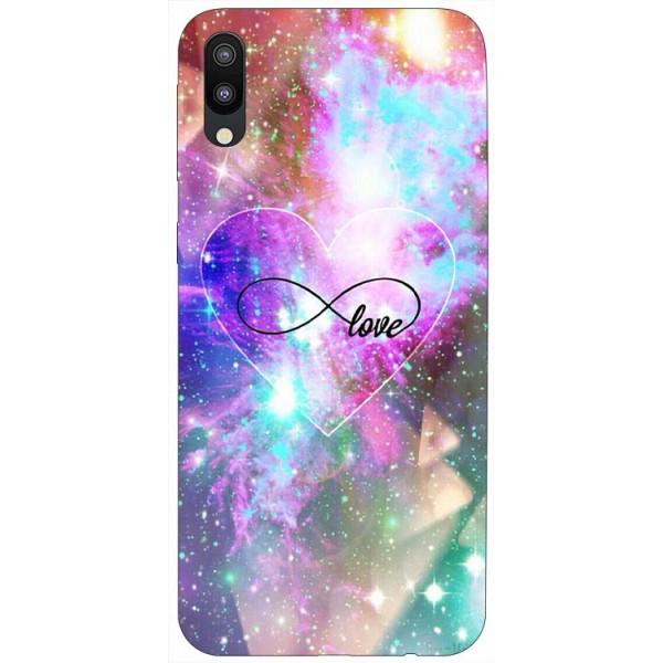 Husa Silicon Soft Upzz Print Samsung Galaxy M10 Model Neon Love imagine itelmobile.ro 2021