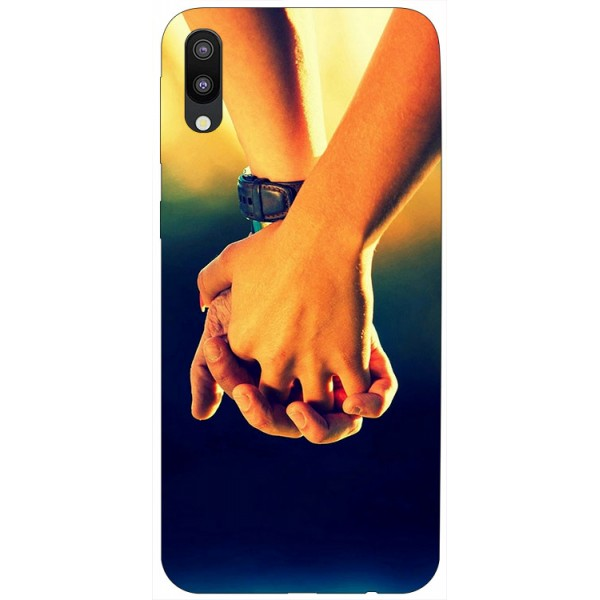 Husa Silicon Soft Upzz Print Samsung Galaxy M10 Model Together imagine itelmobile.ro 2021