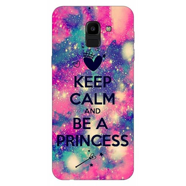 Husa Silicon Soft Upzz Print Samsung J6 2018 Model Be Princess imagine itelmobile.ro 2021
