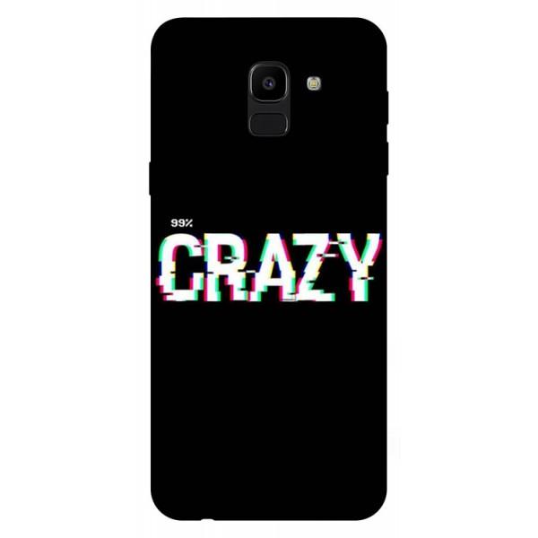 Husa Silicon Soft Upzz Print Samsung J6 2018 Model Crazy imagine itelmobile.ro 2021