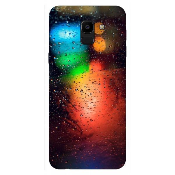 Husa Silicon Soft Upzz Print Samsung J6 2018 Model Multicolor imagine itelmobile.ro 2021