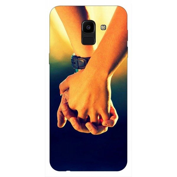 Husa Silicon Soft Upzz Print Samsung J6 2018 Model Together imagine itelmobile.ro 2021