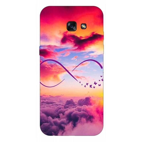 Husa Silicon Soft Upzz Print Samsung A5 2017 Model Infinity imagine itelmobile.ro 2021