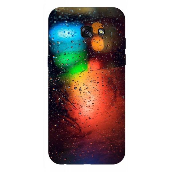 Husa Silicon Soft Upzz Print Samsung A5 2017 Model Multicolor imagine itelmobile.ro 2021