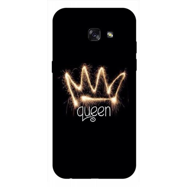 Husa Silicon Soft Upzz Print Samsung A5 2017 Model Queen imagine itelmobile.ro 2021
