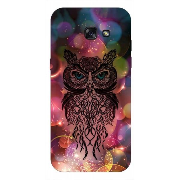 Husa Silicon Soft Upzz Print Samsung A5 2017 Model Sparkle Owl imagine itelmobile.ro 2021