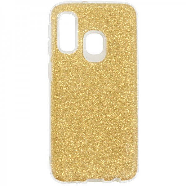 Husa Spate Upzz Shiny Lux Samsung Galaxy A30 Gold imagine itelmobile.ro 2021