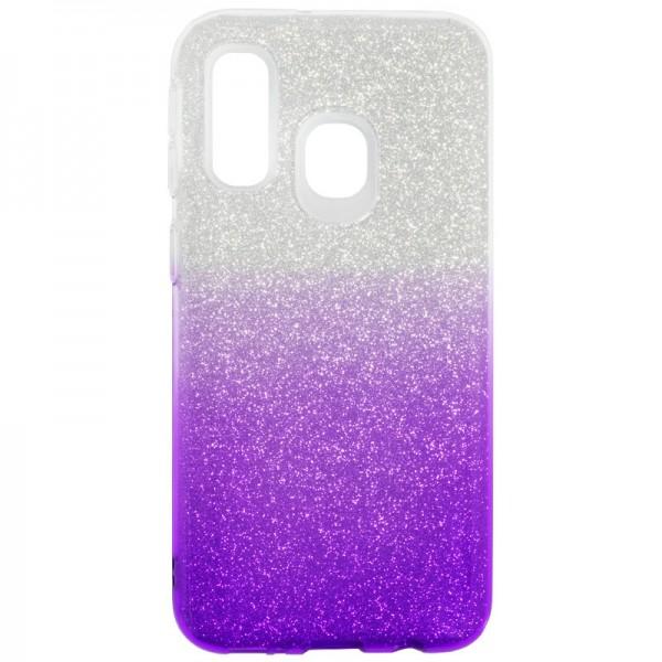 Husa Spate Upzz Shiny Lux Samsung Galaxy A30 Transparent Mov imagine itelmobile.ro 2021