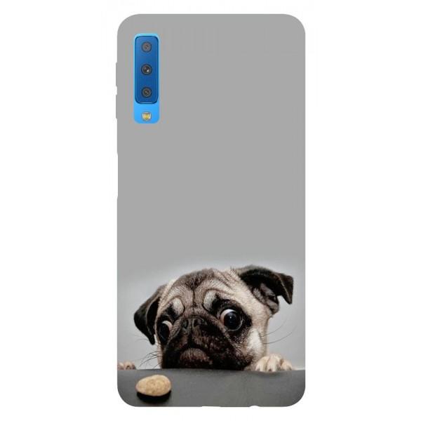 Husa Silicon Soft Upzz Print Samsung Galaxy A7 2018 Model Dog imagine itelmobile.ro 2021
